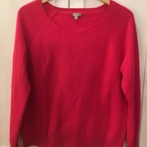 Halogen Cashmere Bright Pink Sweater-Size Large
